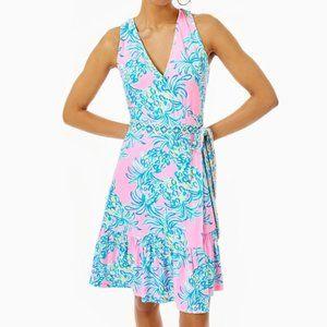 Lilly Pulitzer Misha Sleeveless Wrap Dress XS